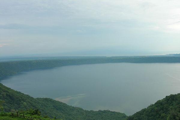 Unique Nicaraguan volcanic lake under threat