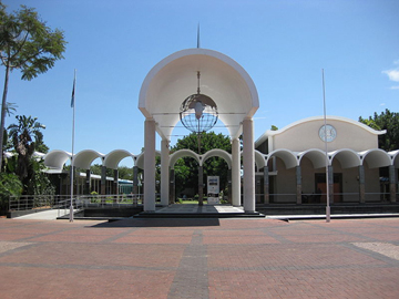 House of the Parliament of Botswana in Gaborone.