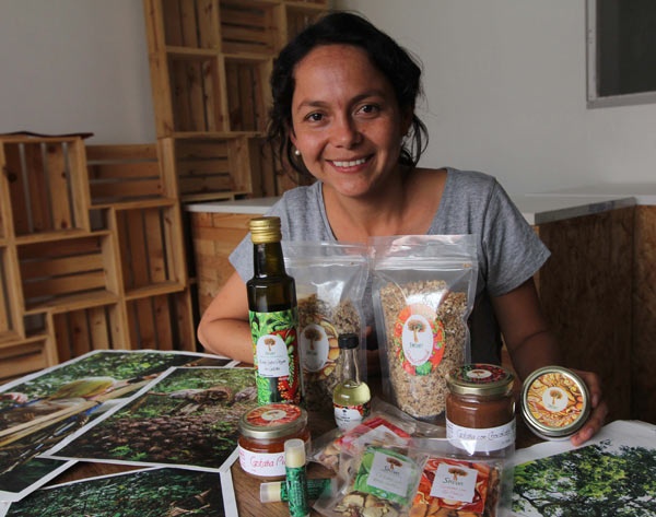 Since her first experiments with granola, Shiwi founder Sofía Rubio has developed flavored chips, oils, lip balm and butters made from Brazil nuts. Photo by Barbara Fraser.