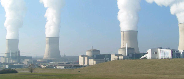 Nuclear plant in Cattenom, France. Creative Commons Attribution-Share Alike 3.0 Unported license.