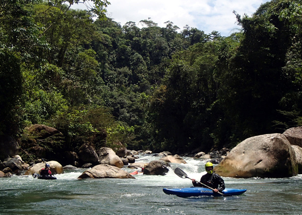 The future of the Napo Watershed hangs in the balance. Photo credit: Ecuadorian Rivers Institute.