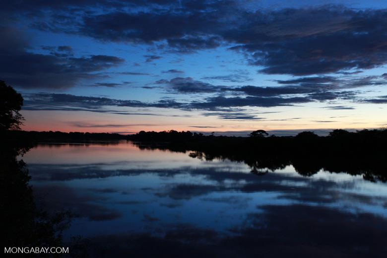 Sundown on the Rio das Mortes