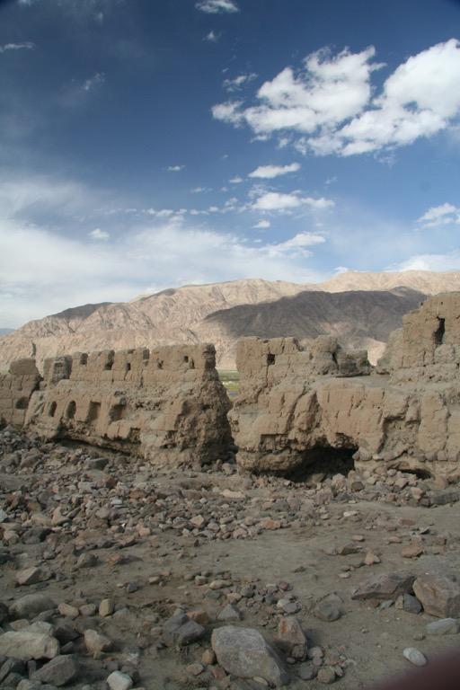 Wall at Tashkurgan fort