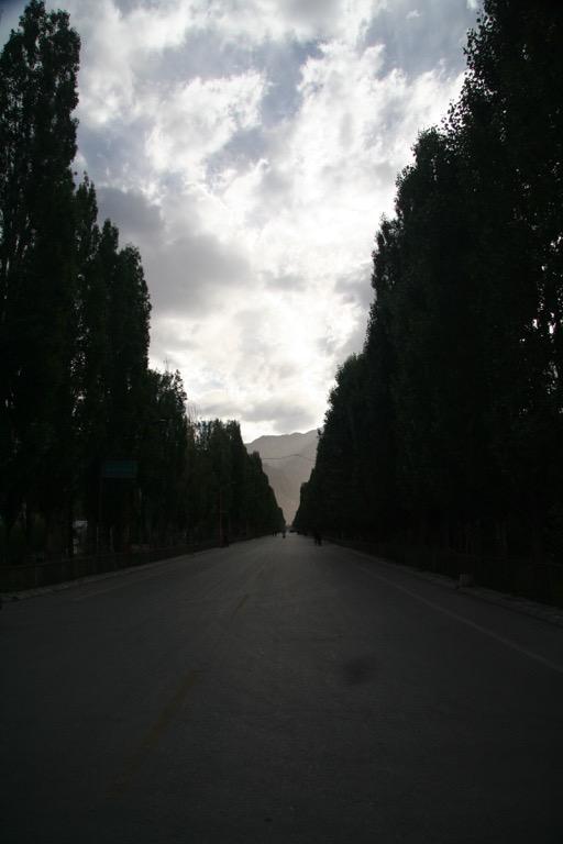 Street in Tashkorgan