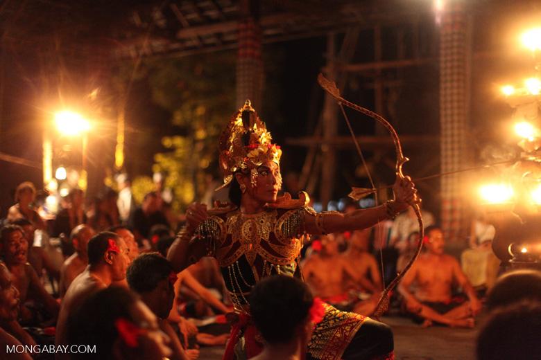 Balinese Kecack Dance