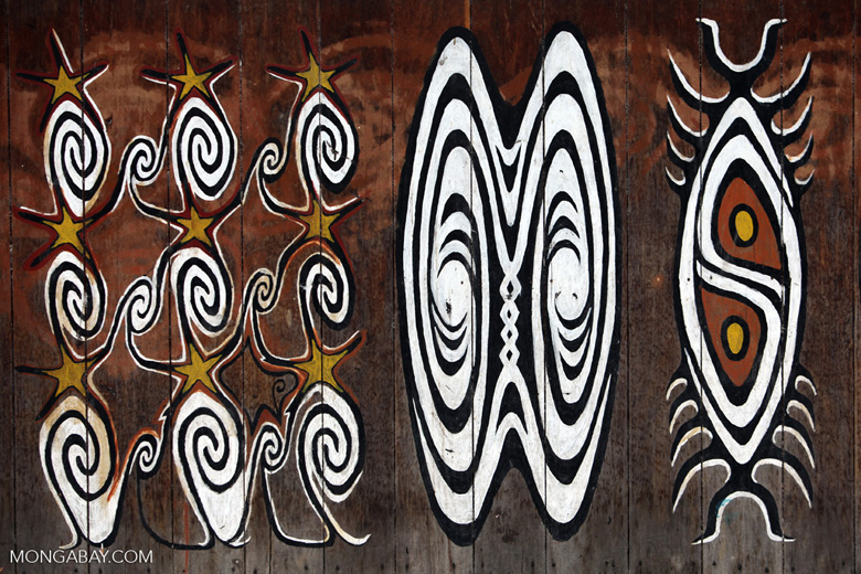 Sentani bark paintings