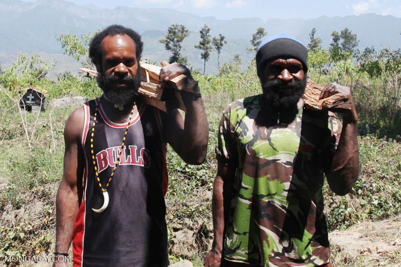 Papuan men