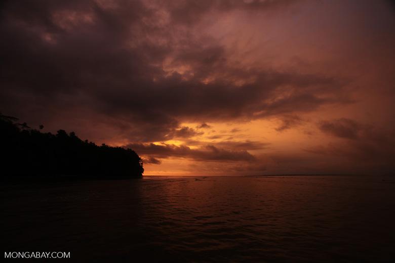 Sulawesi sunset