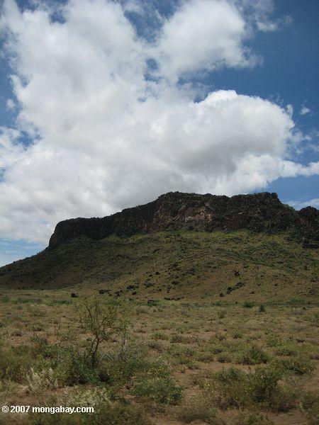 Mountains near the Kenya-Sudan border