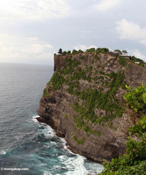 High cliffs of Uluwatu in Bali (Jimbaran, Bali