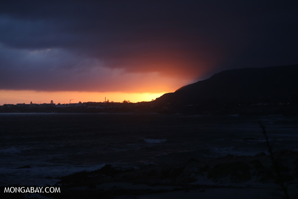 Sunset near Hermanus [south_africa_hermanus_1305]