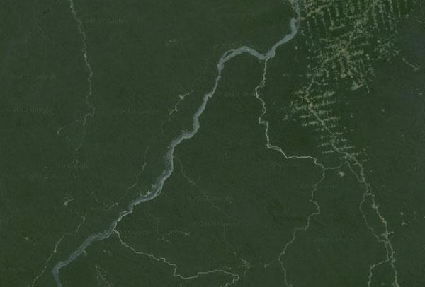 Tapajos river.