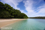 Beach on Peucang Island, Indonesia (Mar 2012). Photo by Rhett A. Butler