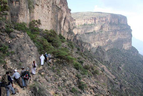 Jebel Samhan, Oman.