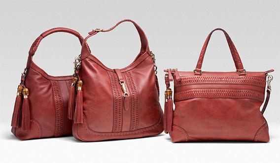 Green Gucci handbags