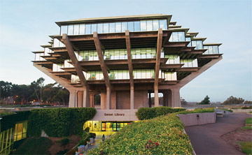 Giesel Library at UCSD.