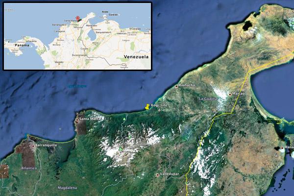 Jaba Tañiwashkaka map