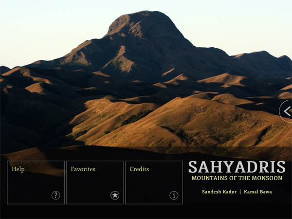 Images from the Sahyadris app.