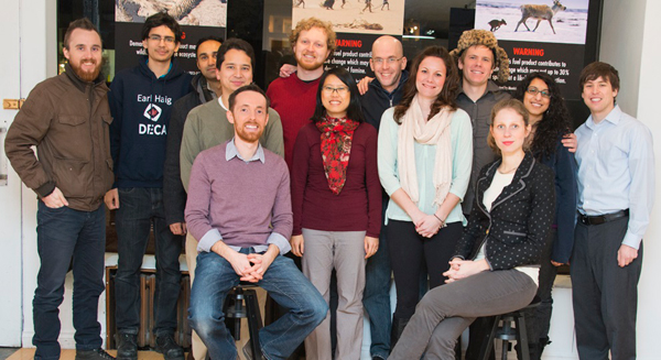 The Our Horizon team, with Rob Shirkey sitting front, left. Photo courtesy of Our Horizon.