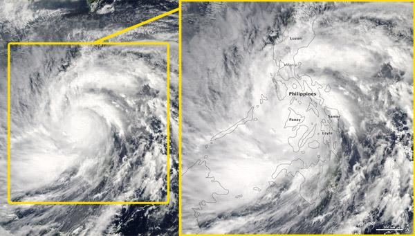 Typhoon Haiyan.