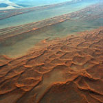 Sand dunes in the Namib Desert