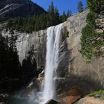 Vernal falls in Yosemite NP, California