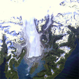 Columbia glacier retreat from 1984-2011