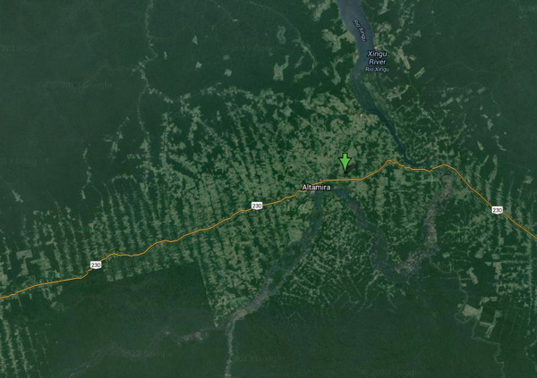 Altamira municipality. Courtesy of Google Earth