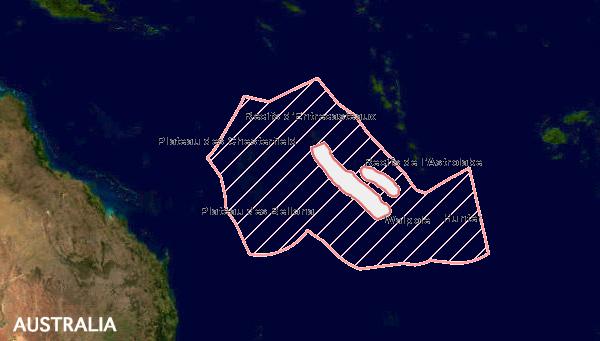 La inmensa nueva área marina protegida  de Nueva Caledonia cubre toda su Zona Económica Exclusiva.