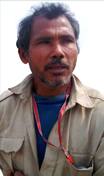 Jadav Payeng, the man who planted a 550-hectare forest over 35 years. Photo by Bijit Dutta.