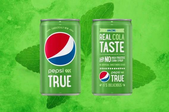 Pepsi True.