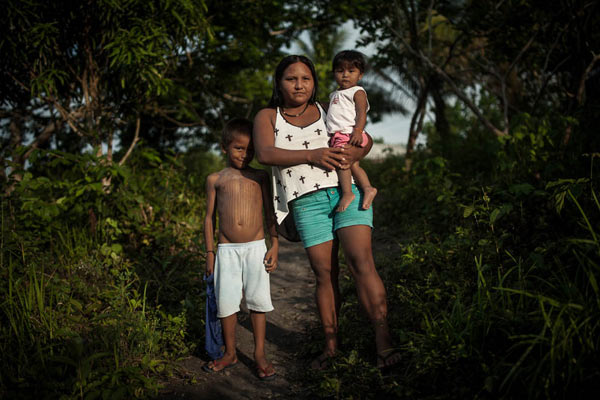 Maria Leusa Kaba Munduruku is the women's representative in the Iperêg Ayû movement. Photo: Marcio Isensee e Sá