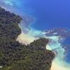 Channel next to Sapi Island, Malaysia