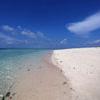 White sand beach in Malaysia, Sabah, Malaysia