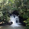 Rainforest waterfall, Sabah, Malaysia
