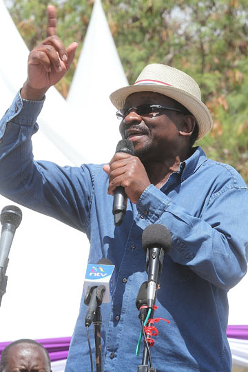 James Orengo-Senator for Siaya County and one of the prominent lawyers in the country reputed for fighting for democracy.