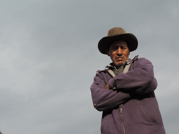 A resident of an Andean community located in a watershed that supplies Lima. Credit: Gena Gammie.