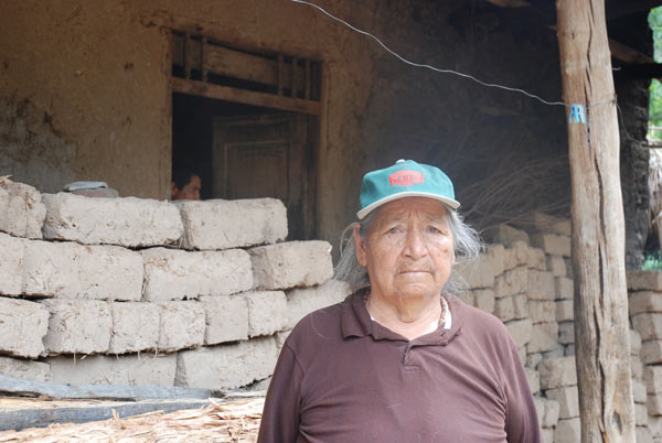 Local resident Maria Araujo Silva: 'This was where my children were born. I want to die here.' Credit: David Hill