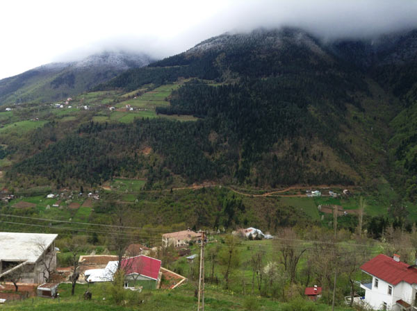 This mountain in Artvin lies within the boundaries of both an area designated for tourism and an area designated for mining. Photo: Jennifer Hattam