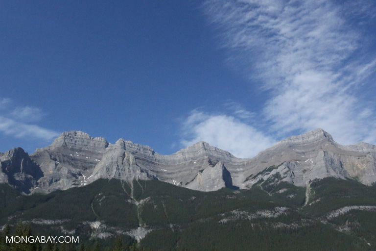 Mountains near Banff