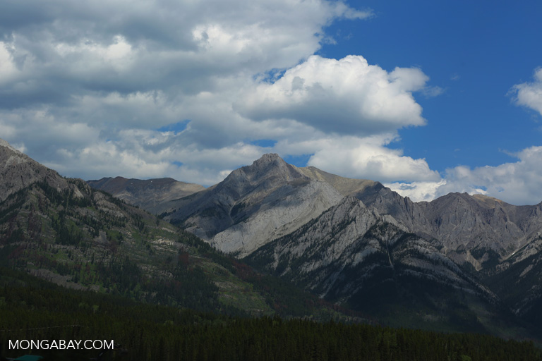 Mountain peak near Banff