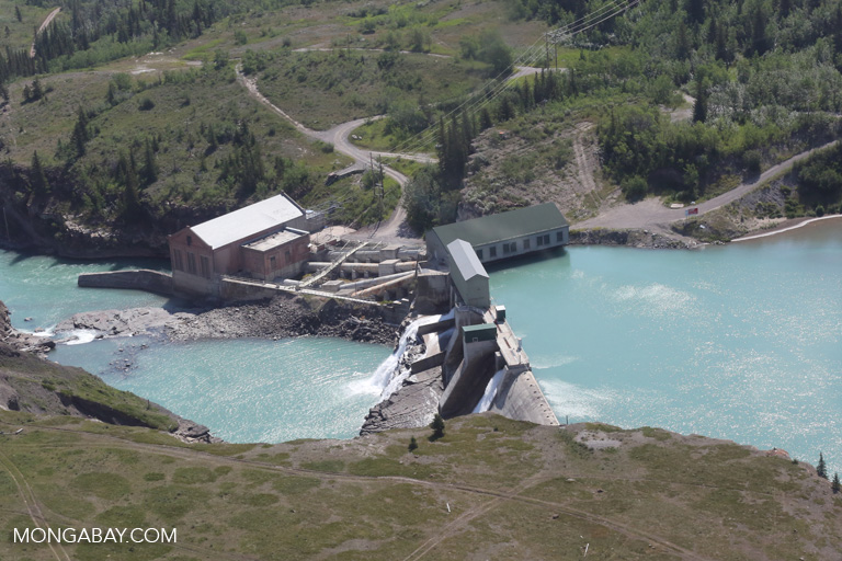 Reservoir near Banff