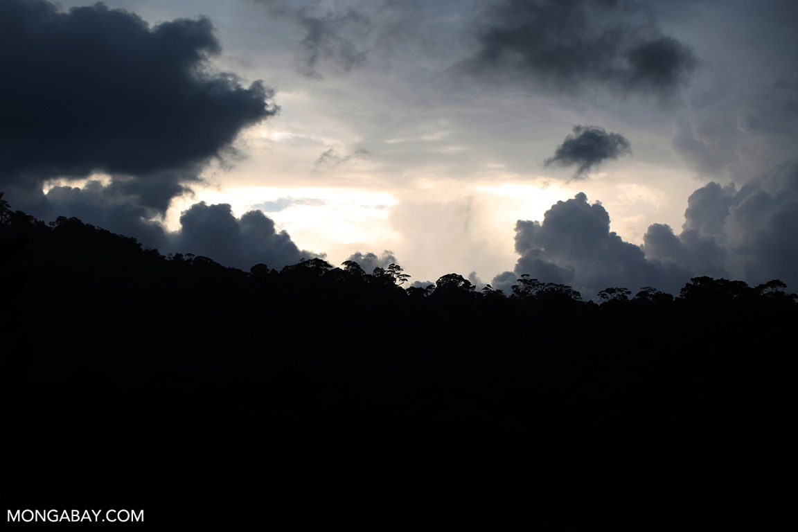 Sunset in Sumatra
