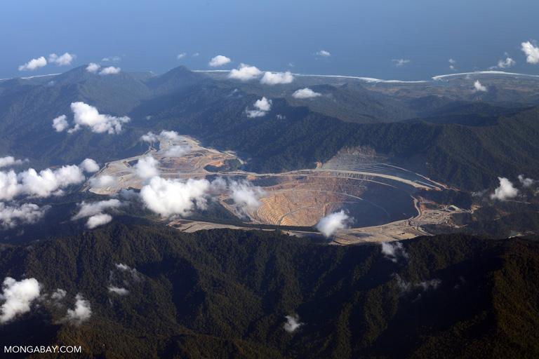 PT Newmont Nusa Tenggara's mine on Sumbawa