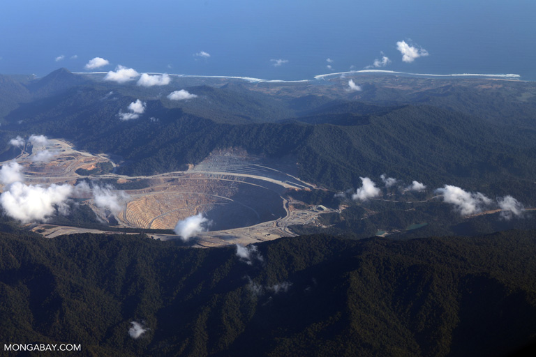 Gold mine in Indonesia