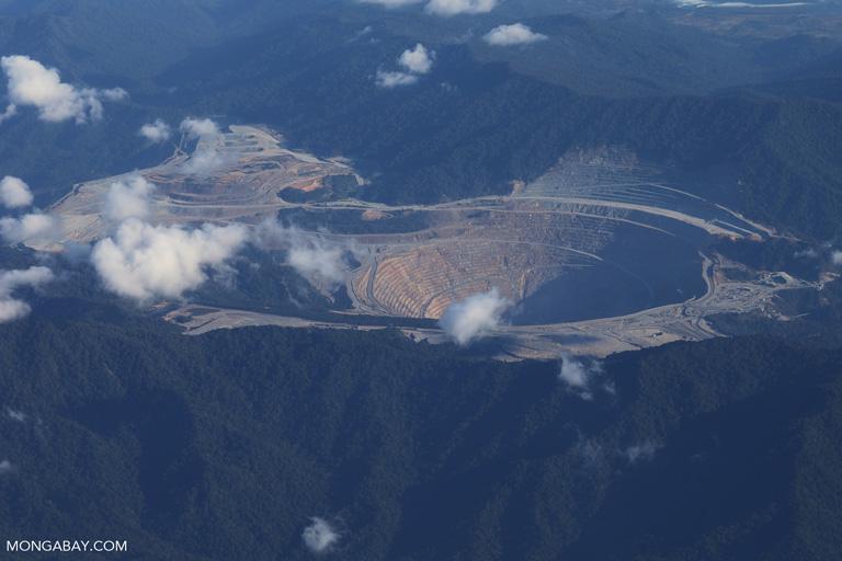 Batu Hijau copper-gold mine