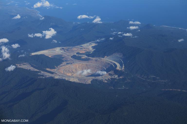 Batu Hijau mine on Sumbawa