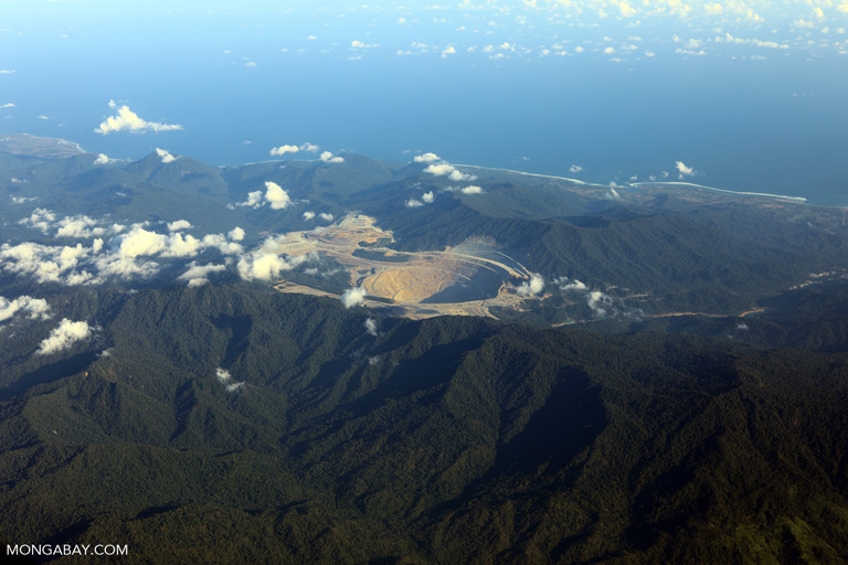 Batu Hijau mine on Sumbawa