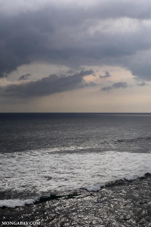 Ocean off Cape Weligama