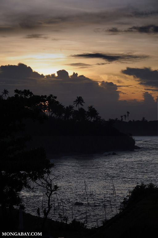 Sunrise off Cape Weligama